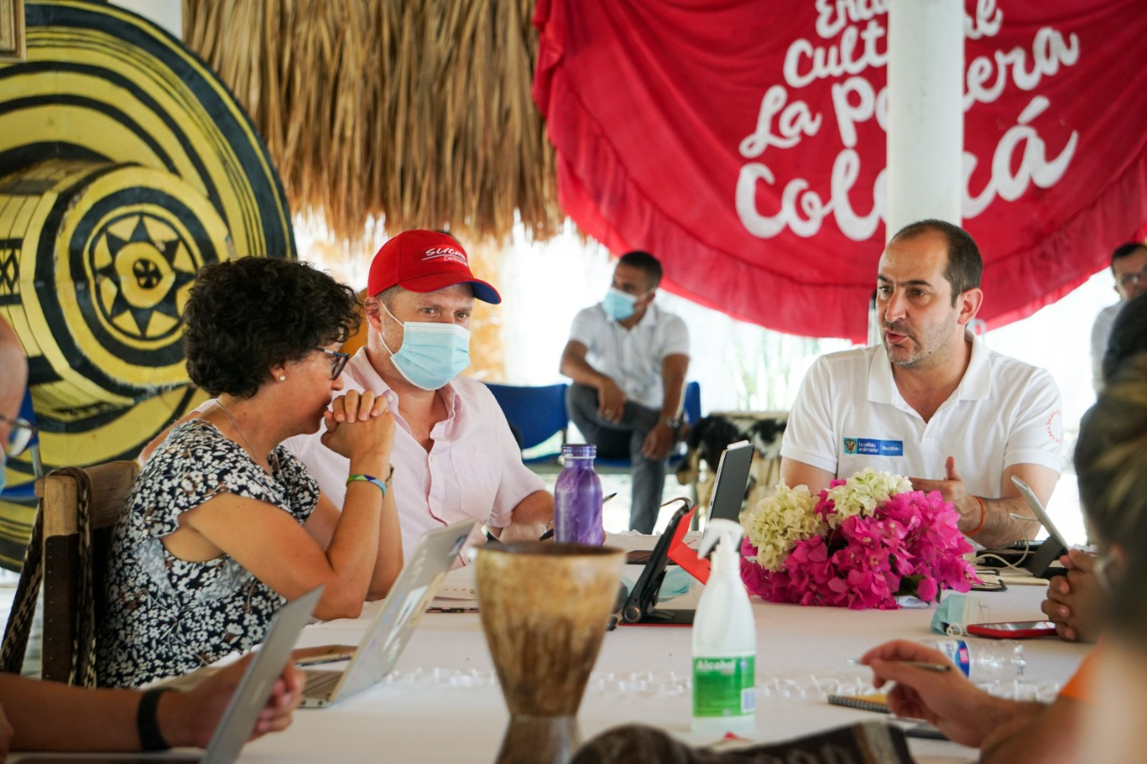 Productiva visita del Ministro de Cultura Felipe Buitrago al Departamento de Sucre